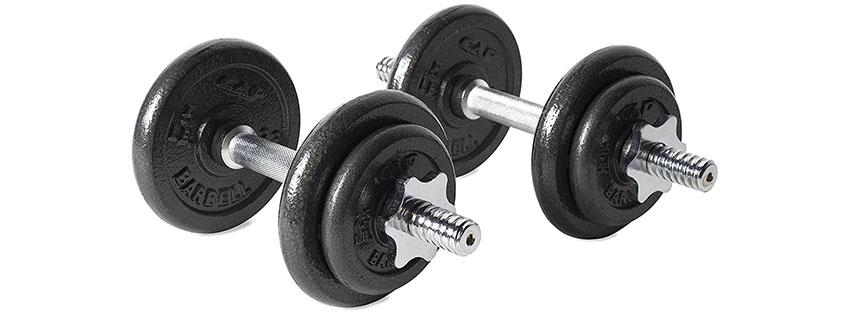 adjustable dumbbell weight training equipment